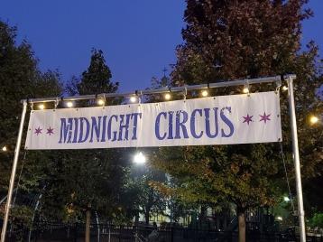 Midnight Circus sign